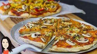No Knead Pizza Dough - Quick & Easy Recipe!