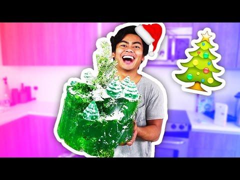 DIY How To Make CHRISTMAS TREE MOUNTAIN!