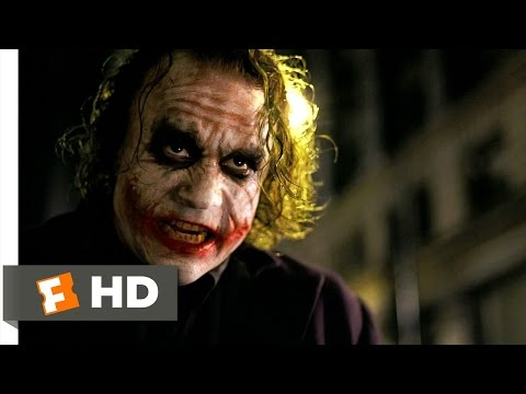 Hit Me! - The Dark Knight (4/9) Movie CLIP (2008) HD