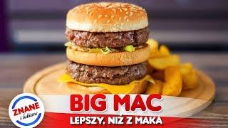 BIG MAC w domu - NAJLEPSZY PRZEPIS *jak w McDonalds