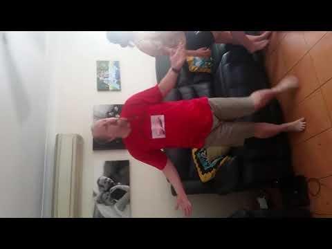 Just Dance 2018 Bucko gets down.