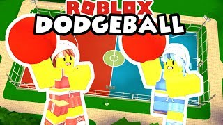 Roblox: Dodgeball / The Classic Game of Team Dodgeball ⛹️‍♀️🤾‍♀️