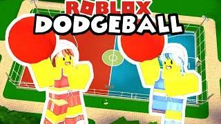Roblox: Dodgeball / Il classico gioco del team dodgeball ⛹️ ♀️🤾 ♀️