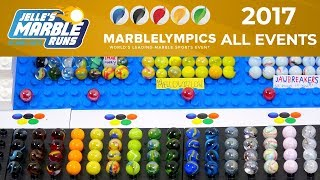 Marble Sports: Marblelympics 2017 All Events