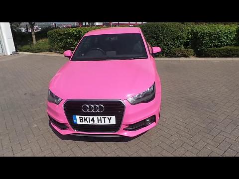 Pink Audi A1 Diesel Hatchback S Line 1 6l For Sale At Stoke Audi