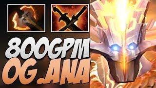 OG.Ana Juggernaut - 800 GPM Dota 2 7.21B Gameplay