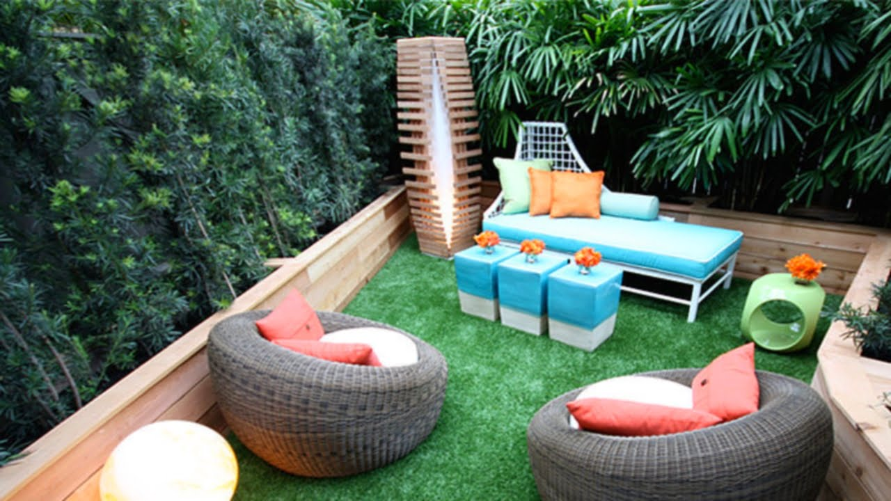 38 Small Backyard Ideas Youtube