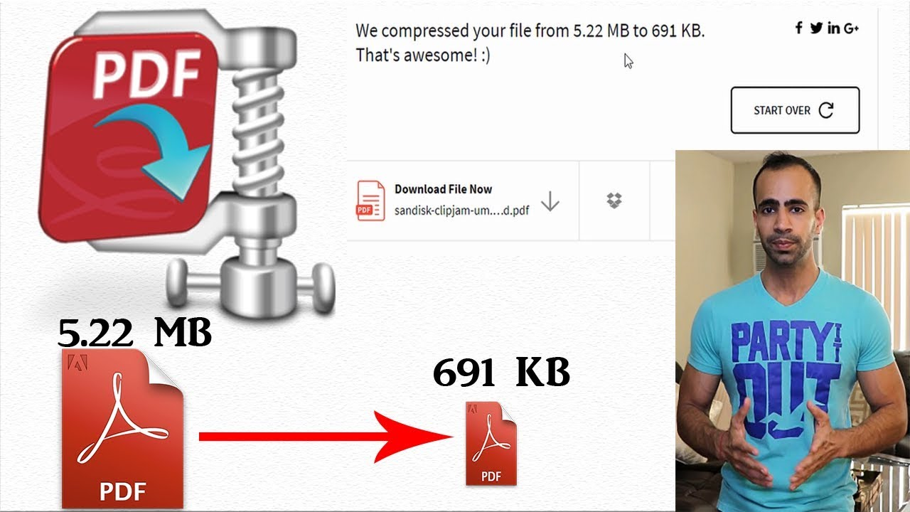 3 Ways to Compress PDF Files without Quality Loss