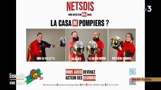 Sdis 23 recherche des sapeurs-pompiers volontaires -  Ensemble C'est Mieux - 19/11/2019