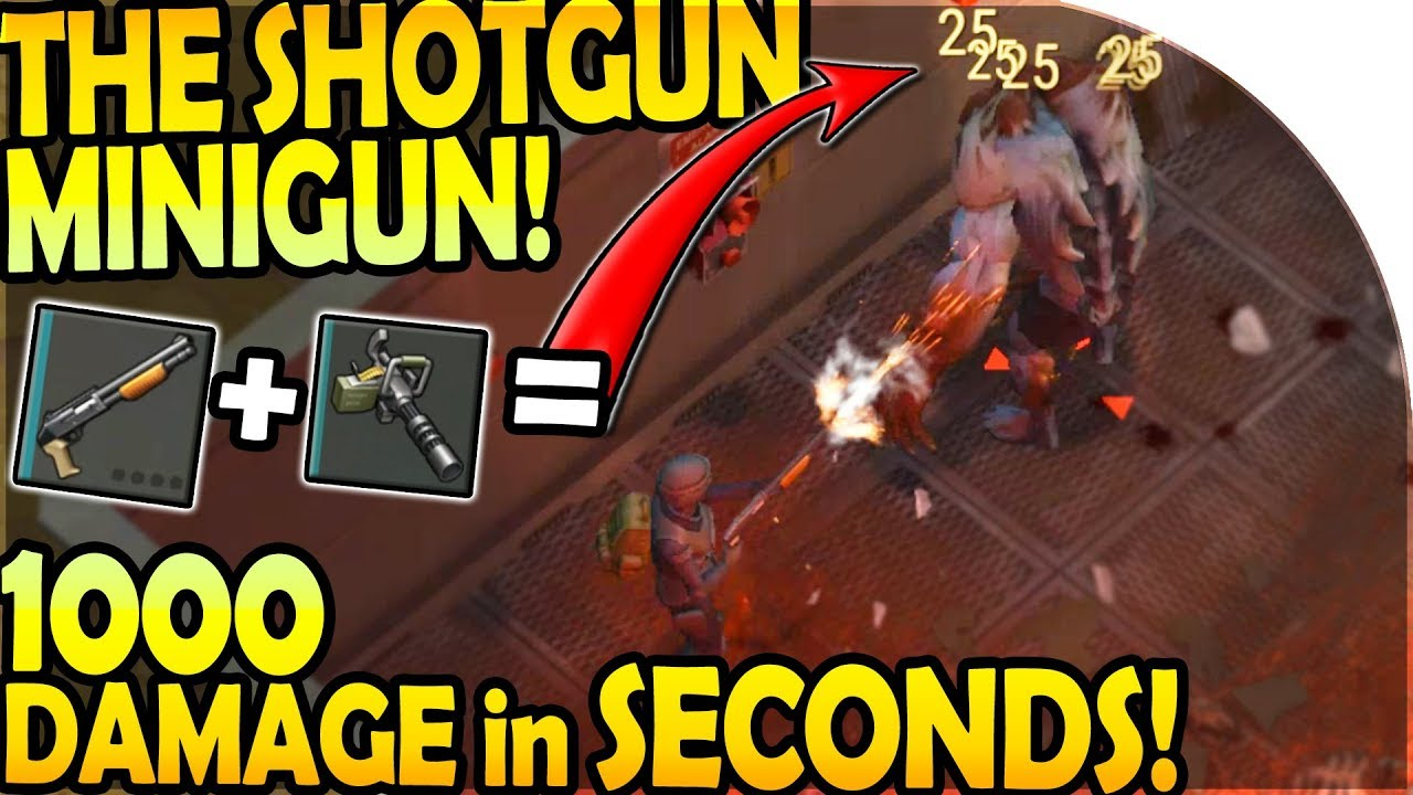 Download THE MINIGUN SHOTGUN (*1000 DAMAGE* IN SECONDS) + EPIC RAID - Last Day On Earth Survival Update 1.9.3