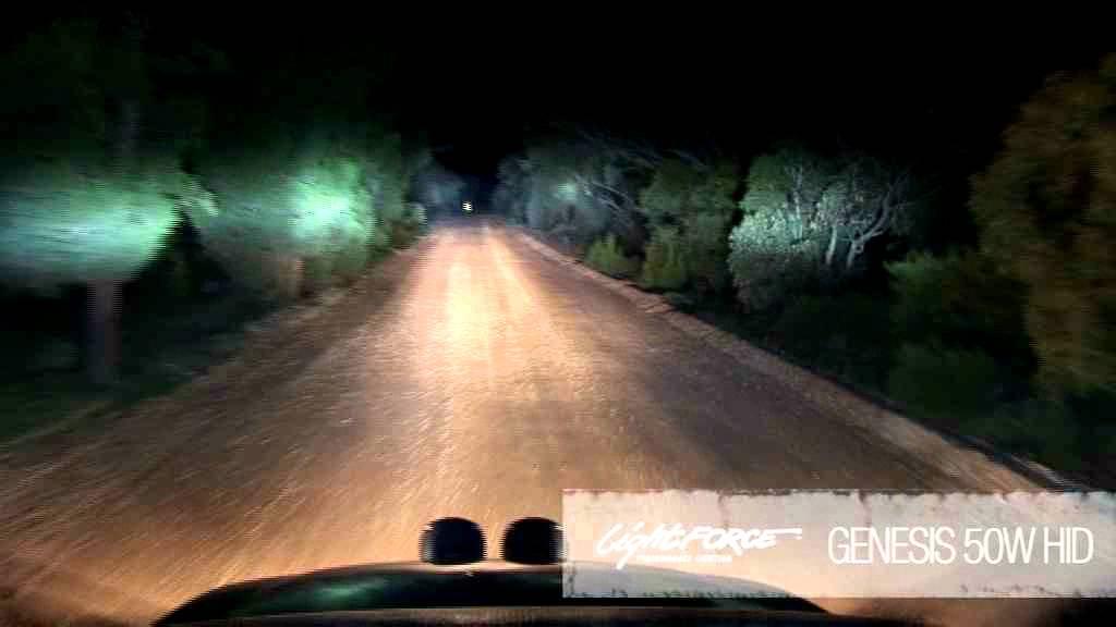 Lightforce Australia  HID Genesis 50W Testing  YouTube