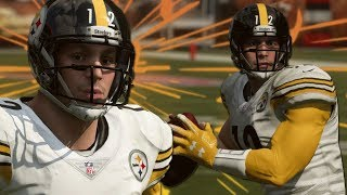 UNDRAFTED ROOKIE QB STARTING FOR THE STEELERS!-MADDEN 19 CAREER MODE- EP 1