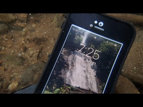 Thumbnail: Searching the River! - Found iPhone, Wallet, Keys and Sunglasses