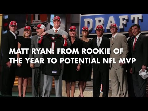 Matt Ryan: From Rookie Of The Year To Potential NFL MVP