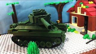 Танк Т-34 vs Танк Т-90 ( Лего мультик)