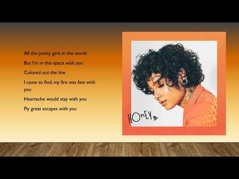 Kehlani - Honey (Lyrics)