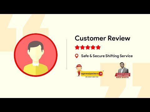 Agarwal Packers And Movers Customer Review House Shifting Pune To Bangalore Bade Bhaiya Youtube