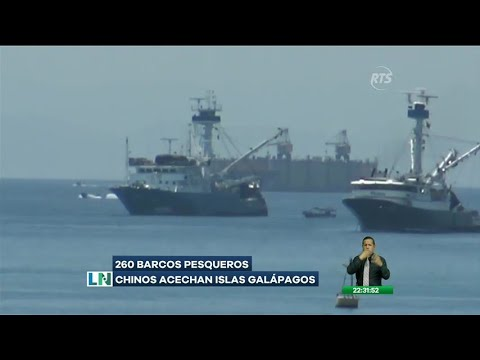 260 Barcos Pesqueros Chinos Acechan Islas Galápagos