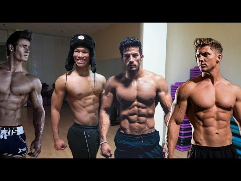 HOW TO BUILD AN AESTHETIC PHYSIQUE| Jeff Seid, Christian Guzman, Steve Cook and Zyzz