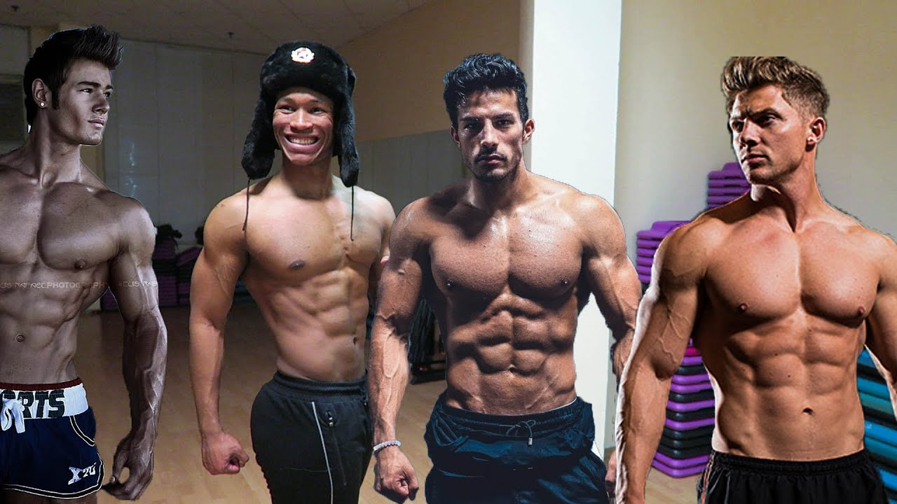 How To Build An Aesthetic Physique Jeff Seid Christian Guzman Steve Cook And Zyzz Youtube