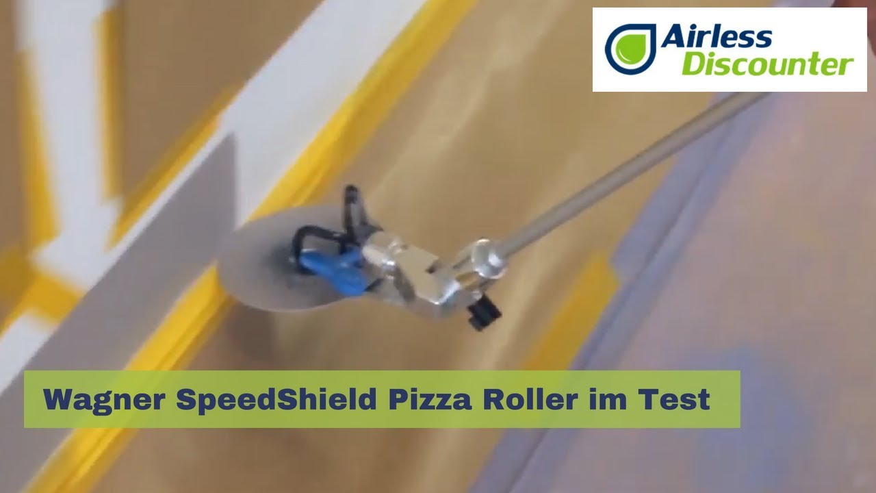Super Test - Wagner SpeedShield Pizza Roller im Test im Airless YC36