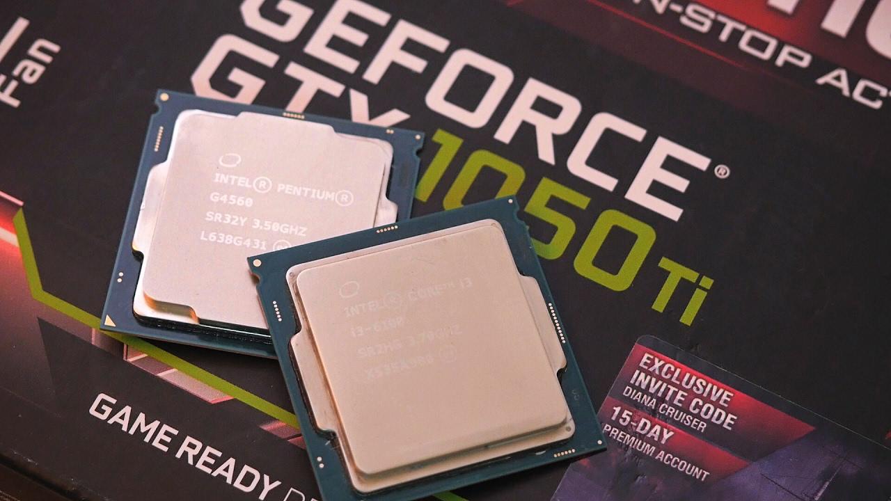 Pentium G4560 против i3 6100 + GTX 1050ti