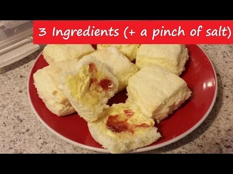 FOOLPROOF Lemonade Scones - Just 3 Ingredients