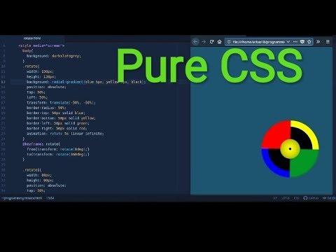 CSS animation || Animating Rotator tutorial || HTML, CSS code thumbnail