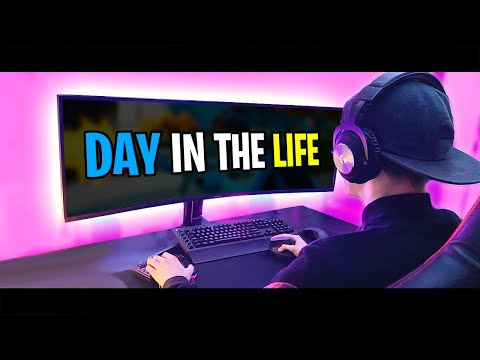 Day in the Life of a Fortnite Montage Editor... #FaZe5