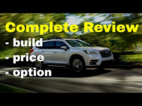 Subaru Build And Price >> 2019 Subaru Ascent Configurations Build Price Review