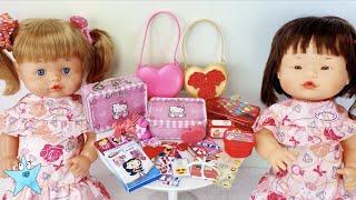 Ani y Ona Día de San Valentin en el cole. ESTRENAN cosas preciosas. Te van a sorprender.