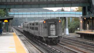 Amtrak Viewliner Diner 8400 on #48 LSL at Riverdale