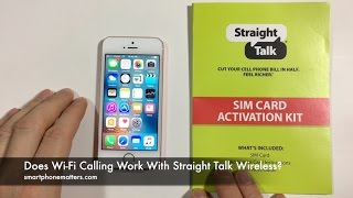 Does Wi-Fi Calling Work With Straight Talk Wireless?