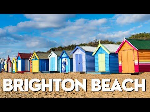 Wonderful Brighton Beach Bathing Boxes | Melbourne | Australia