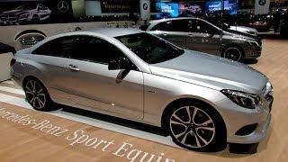 2014 mercedes benz e class e350 coupe exterior interior walkaround 2014 geneva motor show