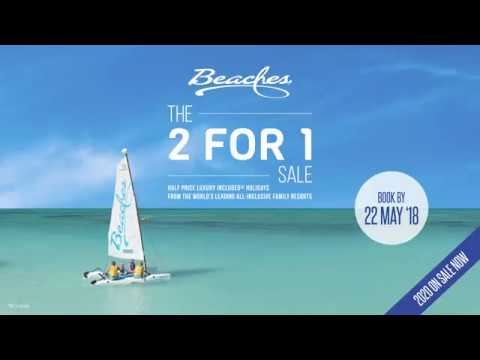aac9154399b9 Sandals   Beaches - 2 FOR 1 Holiday Deals - YouTube