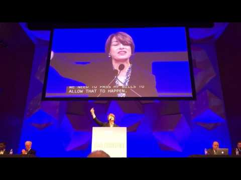 Amy Klobuchar @ MN DFL 2016 State Convention