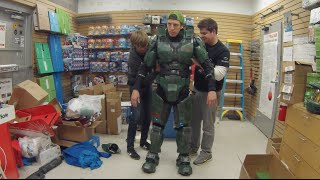 How Do I Put On My Halo Armor?! Start To Finish!
