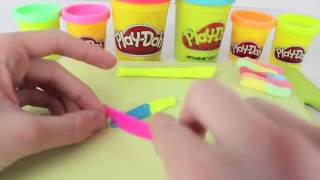 Play Doh Candy Gummy Worms Tutorial How To Make Play Doh Gummi Candy Food Sweets DIY Play Dough   Yo Thumbnail