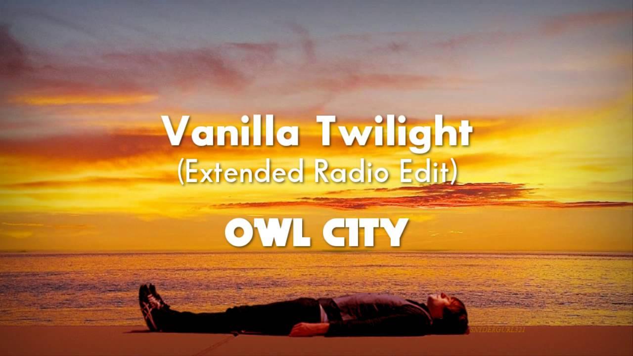 Owl City - Vanilla Twilight (Extended Radio Edit) Lyrics [CC]