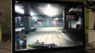 MacBook Pro Retina 2014 Battlefield 4 Frames (Benchmark) HD (Ultra Settings)