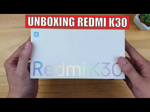 Redmi K30 Unboxing
