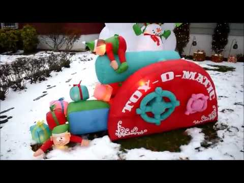 Toy o Matic Airblown Inflatable Christmas