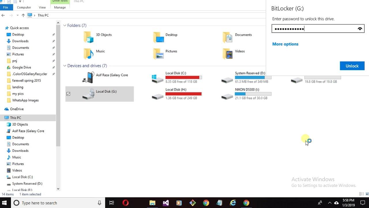 Hướng Dẫn Cách Tắt BitLocker Trong Windows 10 Đơn Giản - HUY AN PHÁT