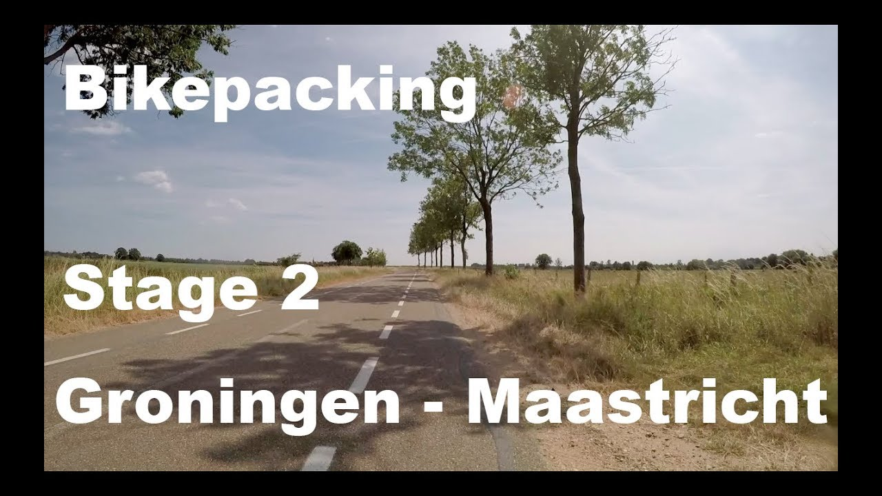 4a1db54c365 345km EPIC ride from Groningen to Maastricht! # bikepacking - YouTube