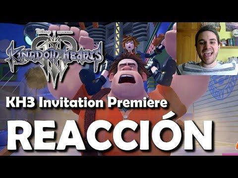 Kingdom Hearts 3 Invitation Premiere - Reacción e Impresiones de Gameplay real (Español)