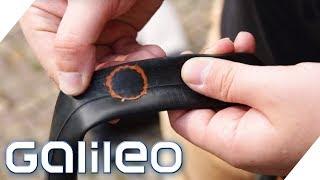 Helfer in der Not: Das Wunder-Reifen-Flickzeug | Galileo | ProSieben