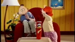 Funny Animation Pringles TV Commercial Boy Couch (2000)