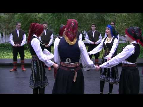 Kosovo Dances - Morava Folklore Group from St Sava Serbian Church
