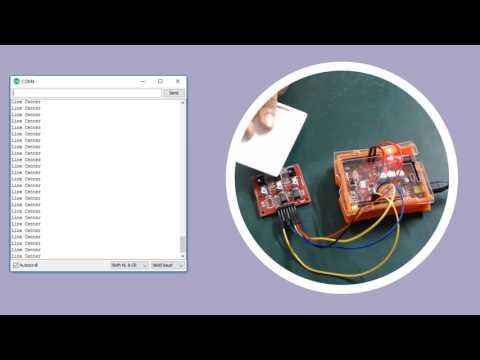 e-Gizmo 3 and 5 Channel Line sensor kit